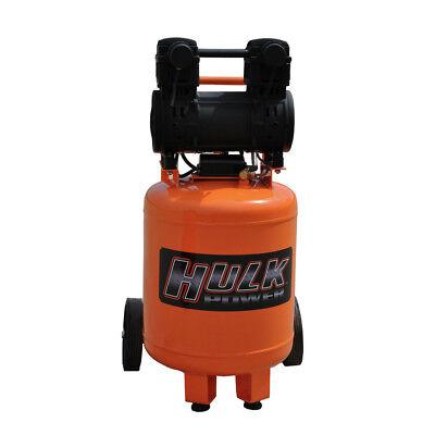Hulk Hp02p010ss 2 Hp 10 Gal. Silent Air Portable Compressor New