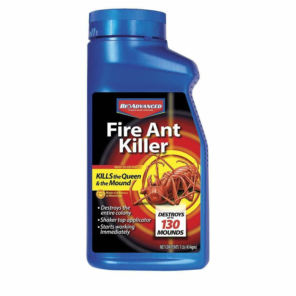 Bayer Advanced 502832 Fire Ant Killer Dust 16-Ounce Fast Act