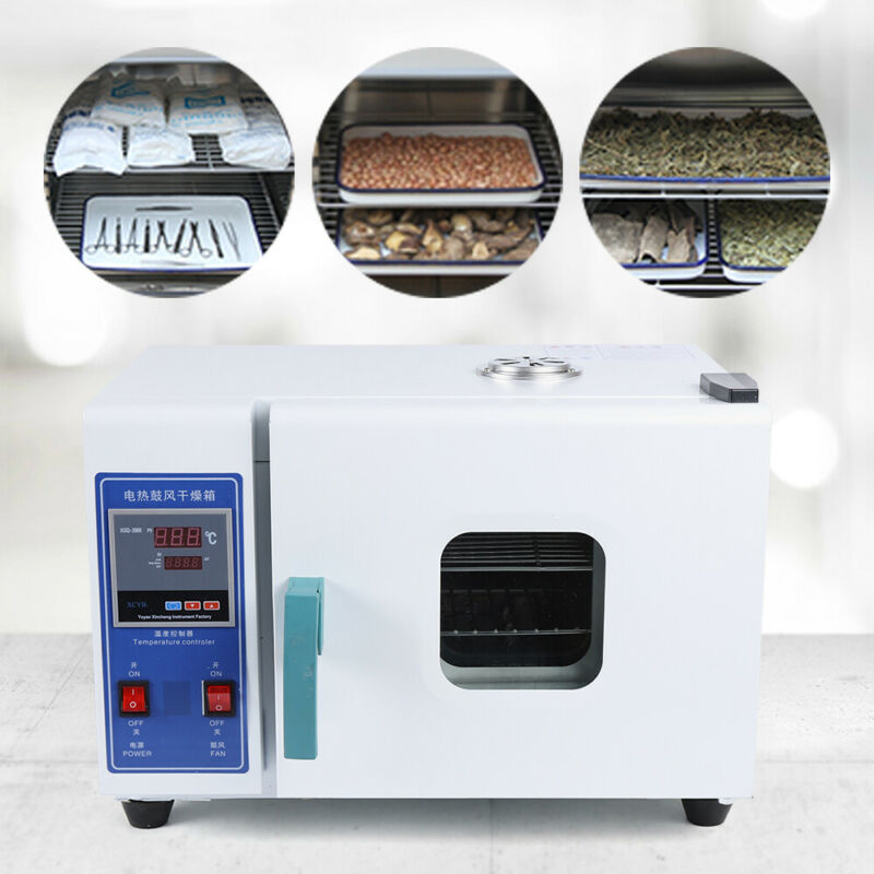 HOT 16L Lab Drying Oven Electric Constant Temperature Blast Drying Oven 110V