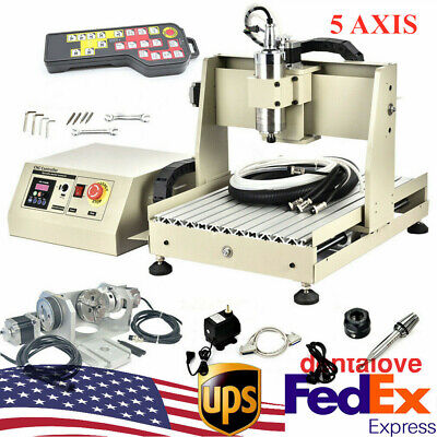 5axis Cnc 3040 Router Engraving Mill 3d Usb Cutter Engraver Machine Wcontroller