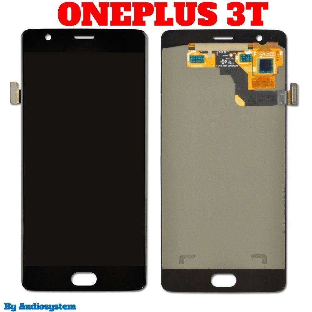 DISPLAY LCD per ONEPLUS 3T 1+3T A3010 +TOUCH SCREEN VETRO SCHERMO NERO NUOVO