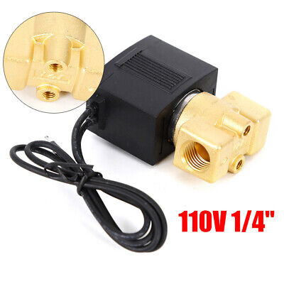 14 Electric Solenoid Valve Ac110v-120v Pneumatic Air Gas Water Oil Welders Nc