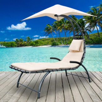 110kg Capacity Luxurious and Comfort Hanging Chaise Lounge Chair