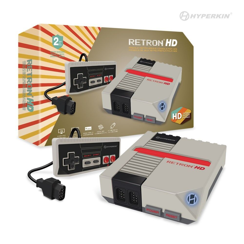 Hyperkin Retron 1 HD Gaming Console For NES, Gray