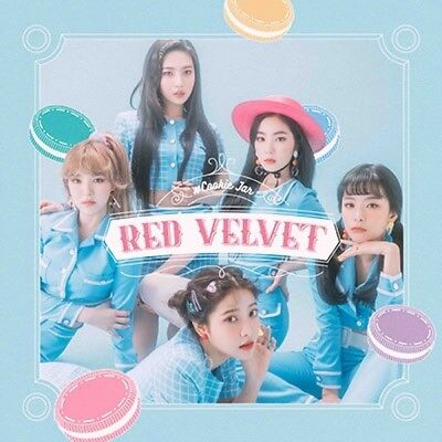 New Red Velvet Cookie Jar first press normal edition CD card Japan
