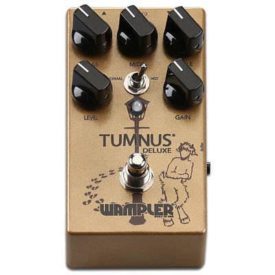 Wampler Tumnus Deluxe Transparent Overdrive Pedal Tumnus-DLX Tumnus-Deluxe Mint