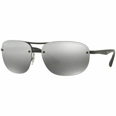 Ray Ban Chromance Collection Sunglasses w/ Silver Polarized Lens RB4275CH 601S5J