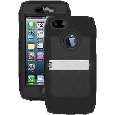 NEW Trident KRAKEN AMS Military Estate Black Case with Holster for iPhone SE 5S 5
