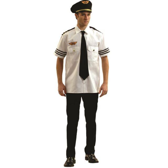 Adult Pilot Fancy Dress Kit