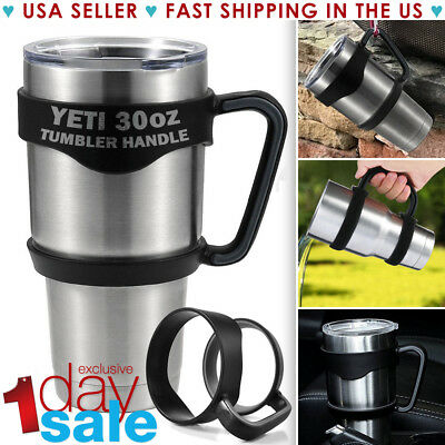 Handle For 30 Oz YETI RTIC Ozark Tumbler Rambler Cup Black Travel Mug SALE - Plastic Cups For Sale