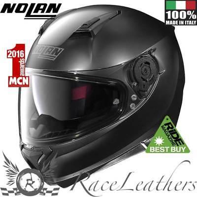 Nolan N87 Classic N Com Matt Black Motorcycle Motorbike Helmet Ride Best Buy