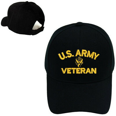 U.S. ARMY VETERAN MILITARY BASEBALL CAP HAT FREE SHIPPING USA