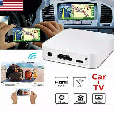 Car WiFi Display Mirror Link Box Adapter MiraScreen DLNA HDMI For Android iOS US