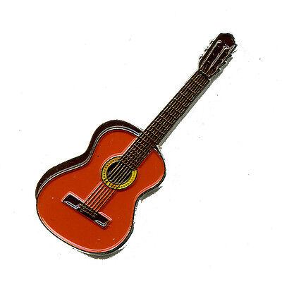 Klassische Gitarre Musik Guitar Badge Metall Button Pin Pins Anstecker 68