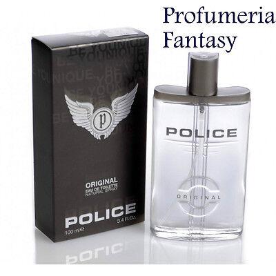 POLICE PROFUMI ORIGINAL MAN EAU DE TOILETTE ML.100 SPRAY