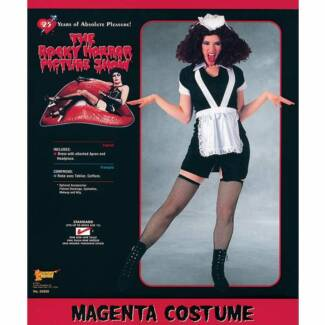 Costume Magenta Rocky Horror (dress and wig) Stepney Norwood Area Preview