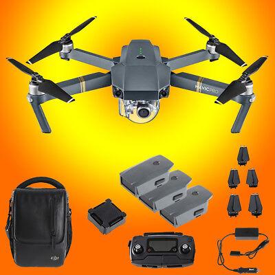 DJI Mavic Pro Fly More Combo Pack Folding Drone Quadcopter Quad 4K Camera