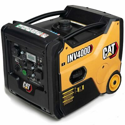 Cat Inv4000 E Co - 3200 Watt Electric Start Portable Inverter Generator W Co...
