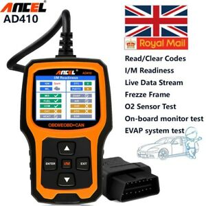 Fault Code Reader Scanner Engine Diagnostic Reset Tool OBDII Car Repair Tool UK