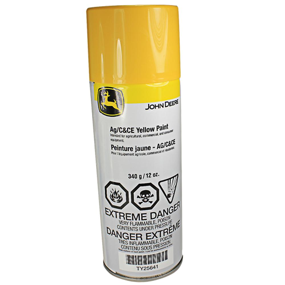 John Deere Original Equipment Yellow Spray Paint #TY25641 ...