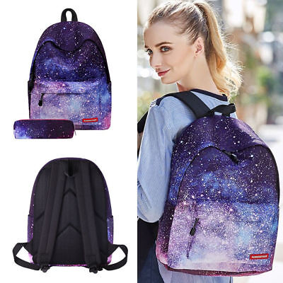 Galaxy School Bag Backpack for Teen Teenage Girls Kids, Unisex Collection Canvas - Bags For Kids