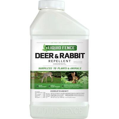 Deer Repellent Concentrate - Liquid Fence Deer & Rabbit Repellent Concentrate 40oz Each