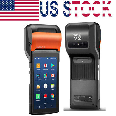 Handheld POS Printer V2 For Android 7.1 OS With 5.45