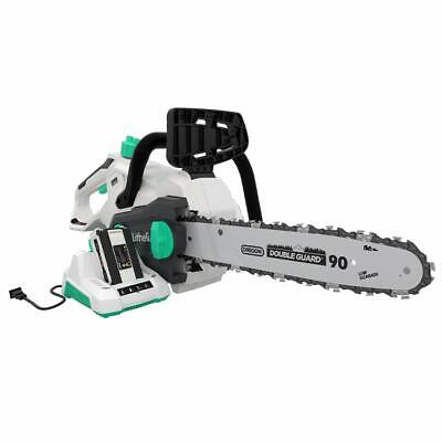 "LiTHELi 40V Cordless Brushless 14"" Chainsaw w/ 2.5AH*2 Batte"