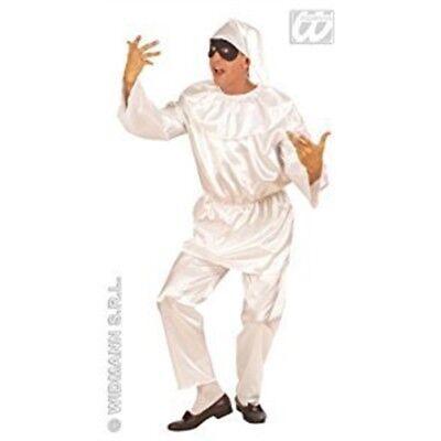 Costume De Pulcinella (m) (chapeau De Pantalon De Manteau) - Girls Jester Mime