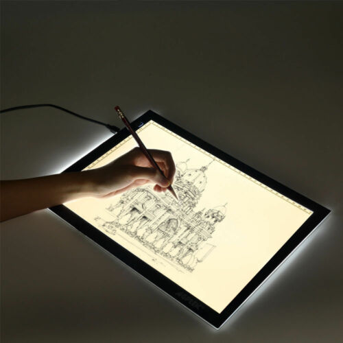 LED Tracing Light Box Board Art Tattoo A4 Drawing Pad Table Stencil Display New Computers/Tablets & Networking