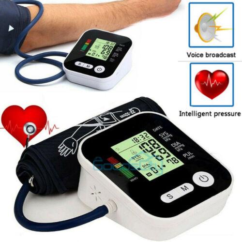 Digital Arm Blood Pressure Monitor Heart Beat Meter Medical