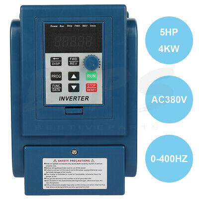 5hp 380v 4kw 12a Variable Frequency Drive Inverter Vfd 3 Phase Speed Controller