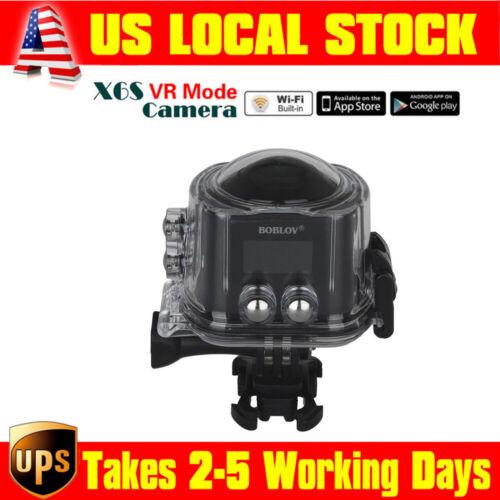 BOBLOV X6S Wifi Panoramic Virtual Reality Camera Ultra HD 24