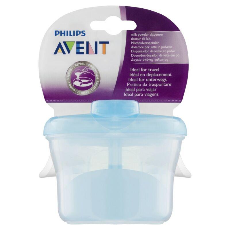 Philips Avent Milk Powder Dispenser - Blue Baby BPA Free SCF135/06