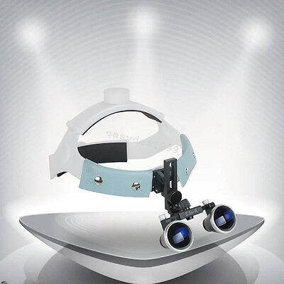 Headband 3.5x 420mm Dental Surgical Medical Binocular Loupes Glasses Magnifier