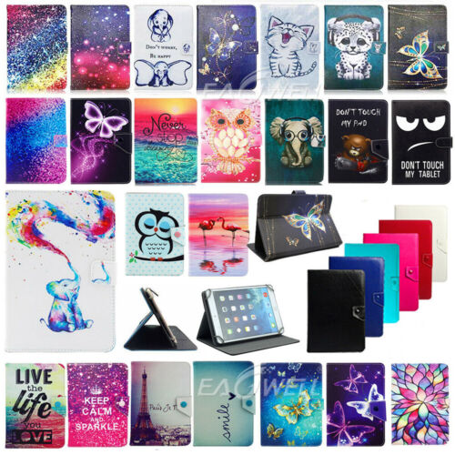 Details about For Amazon Kindle Fire 7 7-inch Tablet New Pattern PU Leather  Stand Case Cover