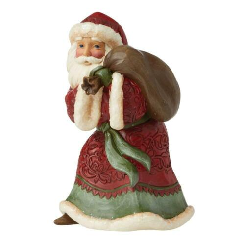Jim Shore VICTORIAN SANTA WITH TOY BAG-CHRISTMAS JOY ON THE WAY 6009491 NEW 2021