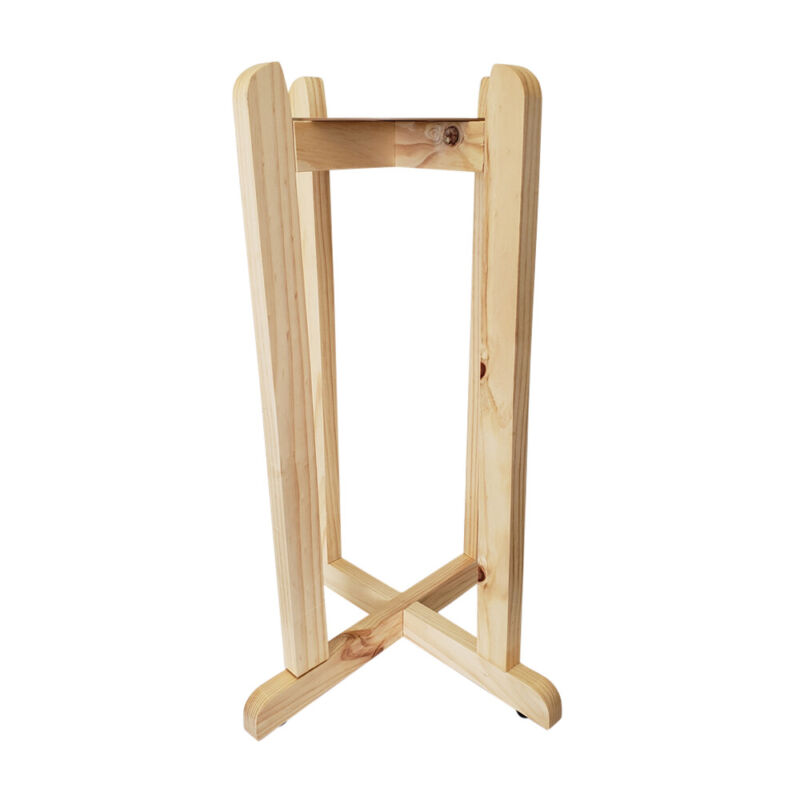 """30"""" Natural Hard Wood Floor Stand"""