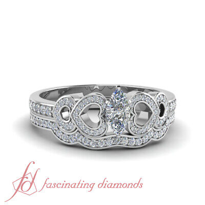 Engagement Rings And Wedding Bands For Women With Marquise C