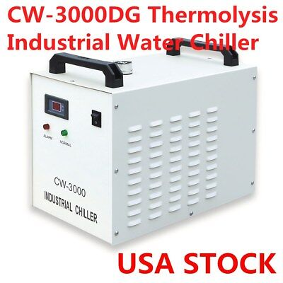 Cw-3000dg Industrial Water Chiller For Laser Engraver With 60w 80w Co2 Tube Usa