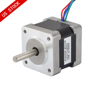 Us Ship Nema 14 Stepper Motor 18ncm 0.8a 3d Pinter Makerbot Reprap Cnc Robot Osm