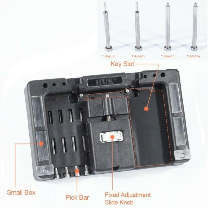 For HUK Key Fixing Tool Flip Key Vice of Flip-key Pin Remover Locksmith Tool