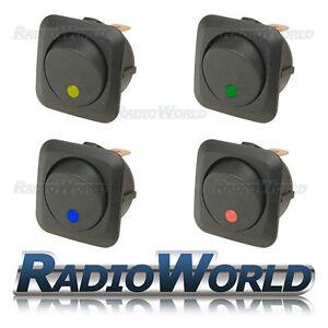 4x-Mixed-LED-Illuminated-Rocker-Switch-On-Off-12v-25A-Car-Van-Dash-Light
