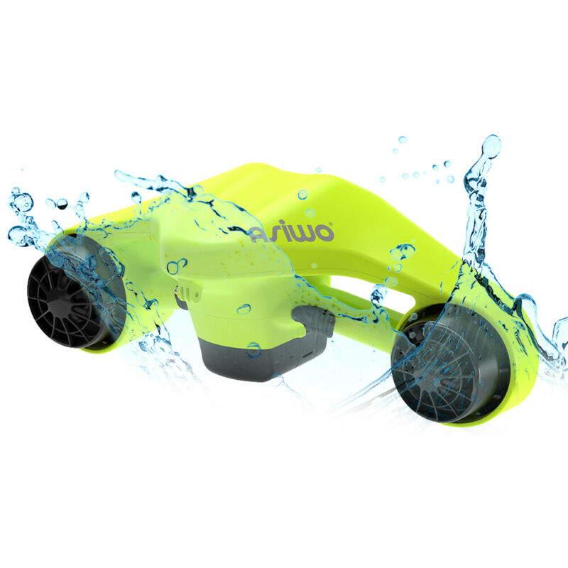 Underwater Scooter Dual Motors Action Camera Compatible Sports Swimming Pool