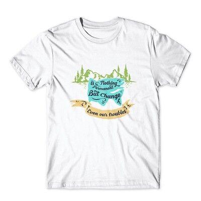 Nothing Premium T-shirt - Nothing Is Permanent T-Shirt. 100% Cotton Premium Tee NEW
