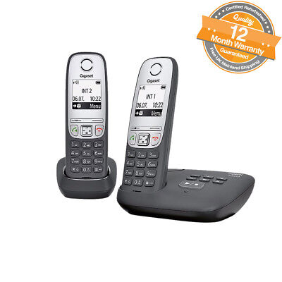 Gigaset A455A Twin Digital Cordless Telephone with Answering Machine Caller ID