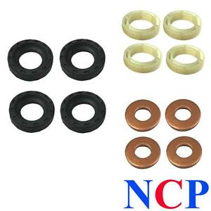 peugeot 206 207 307 308 407 1007 1 6 hdi dv6 injector seals washers protectors ebay. Black Bedroom Furniture Sets. Home Design Ideas