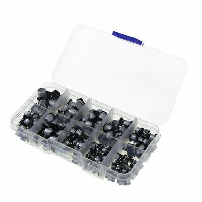 200 Pcs 10 Value Assorted Smd Electrolytic Capacitor Kit 10v50v 1uf470uf