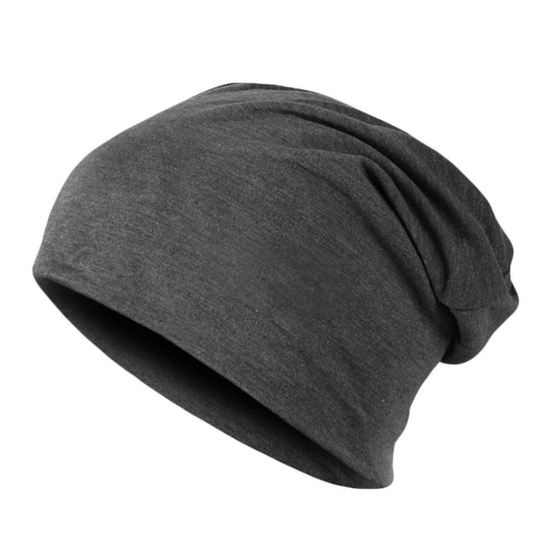 Men Women Beanie Jersey Cotton Thin Hat Slouchy Skull Casual Hip Hop Cuff Cap US Clothing, Shoes & Accessories