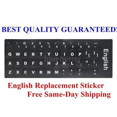 Russian Layout Keyboard Stickers Non Transparent Universal For Computer PC A1I4